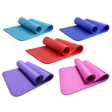 Non-Slip 10mm Ultra Thick Yoga Mat Fitness Exercise Sports Pilate Pad New free shipping