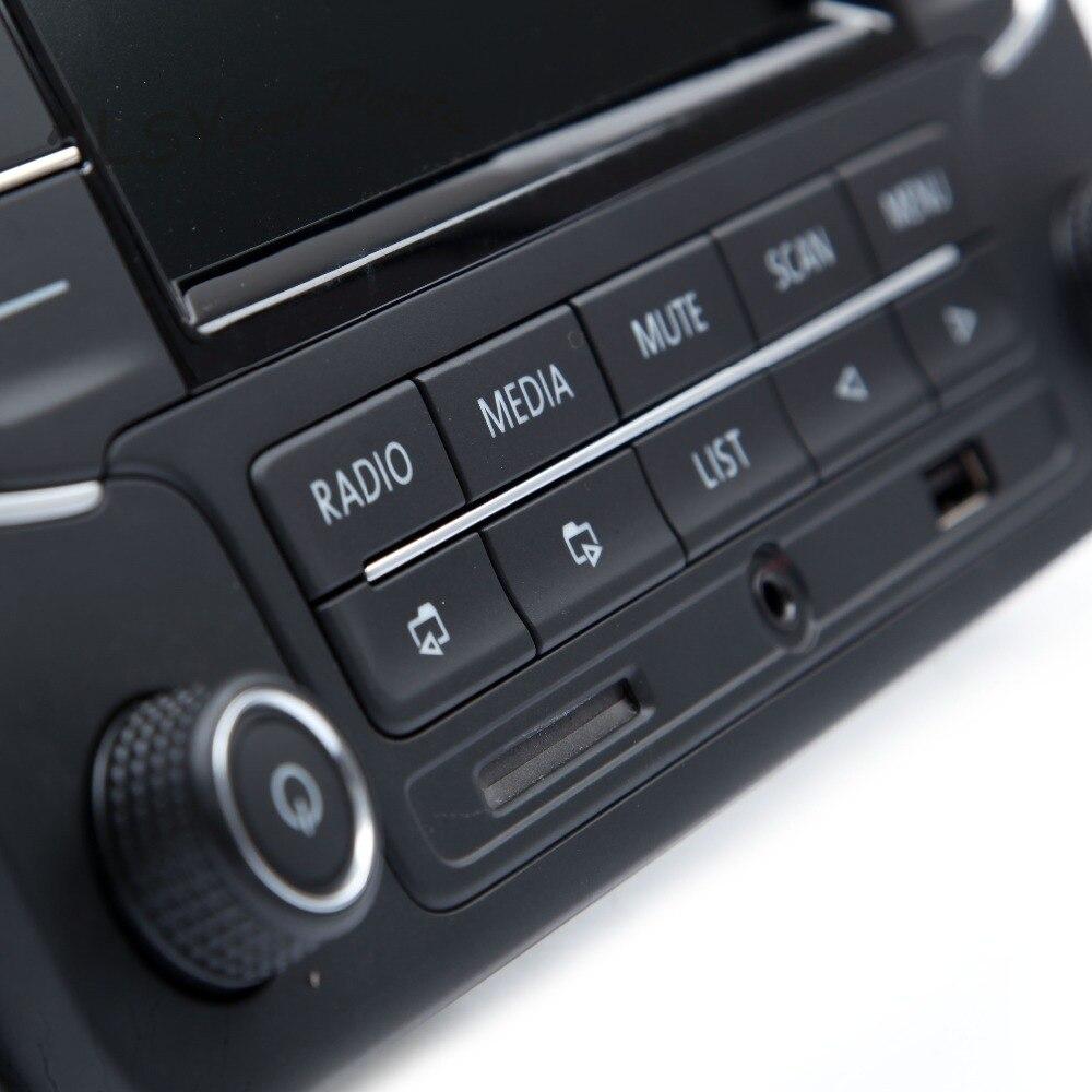 Ymm oem 3ad 035 185 rcd510 rádio do carro mp3 pagador com aux usb sd cartão de memória entrada para vw golf mk5 jetta tiguan passat polo 6r - 6