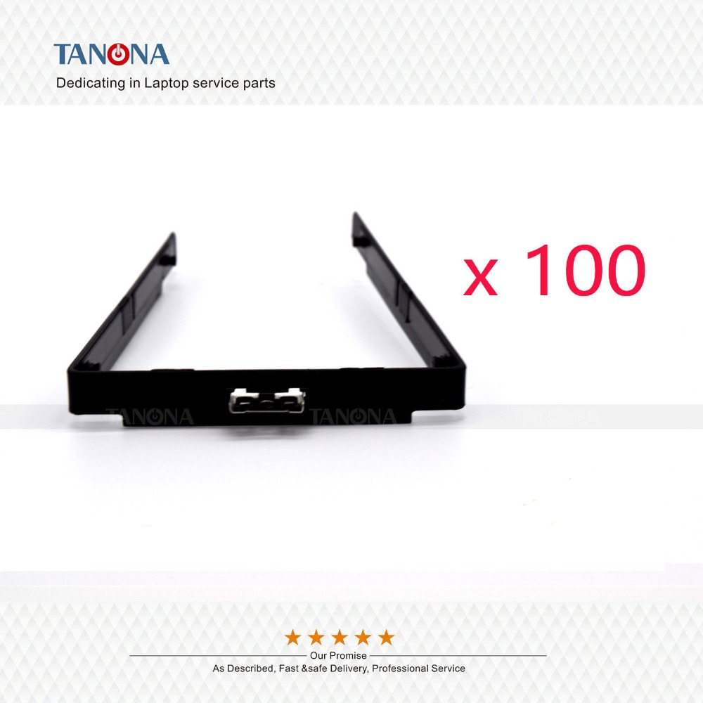 100pcs lot New replacement for Lenovo Thinkpad T540 T540P W540 W541 Laptop HDD Caddy Bracket Frame