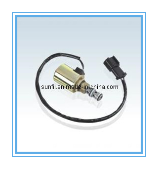 Excavator spare parts PC200-6 Solenoid Valve (6D95), 20Y-60-22121 20Y-60-22122 deawoo excavator throttle sensor dh stepper motor throttle position sensor excavator spare parts
