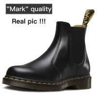 Dr martens chelsea boots men boots men chelsea boots 2976 Genuine Leather