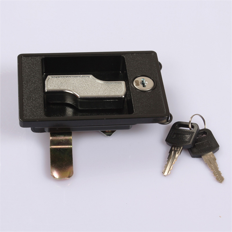 Lightning Square Shape Lock Metal File Cabinet Lock Steel Cabinet Box Lock  KF251(China)