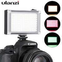 Ulanzi 112 Mini LED Video Licht Tasche Vlog Weiterhin Füllen Beleuchtung Auf Kamera für Canon Nikon DSLR Moza Mini S zhiyun Glatte 4