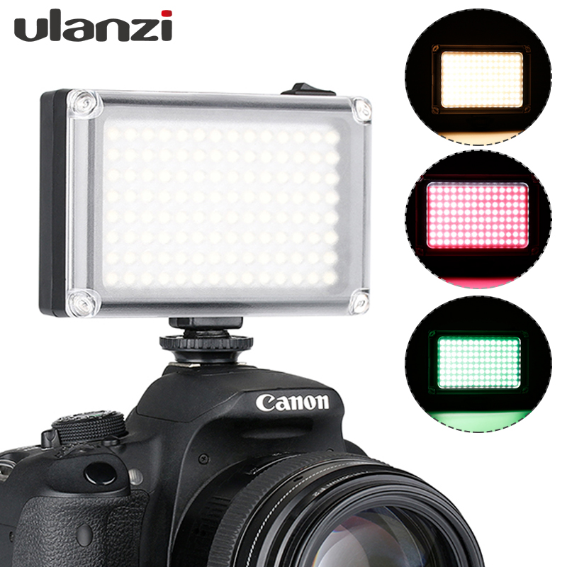 Ulanzi 112 Mini LED Video Light Pocket Vlog Continues Fill Lighting On Camera for Canon Nikon DSLR Moza Mini S Zhiyun Smooth 4-in Photo Studio Accessories from Consumer Electronics