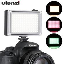 Ulanzi Mini luz LED para vídeo de bolsillo, Vlog, iluminación de relleno continua, para cámara Canon, Nikon, DSLR, Moza Mini S, Zhiyun Smooth 4, 112