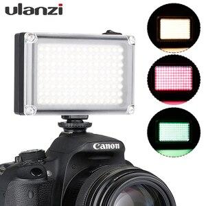 Image 1 - Ulanzi Mini luz LED para vídeo de bolsillo, Vlog, iluminación de relleno continua, para cámara Canon, Nikon, DSLR, Moza Mini S, Zhiyun Smooth 4, 112