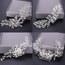 Bridal Hair Ornaments with Rhinestone