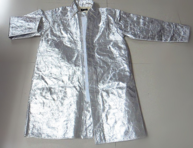 Aluminum foil protective clothing coat fire service 1000 degrees heat protective clothing fire suit GM12100