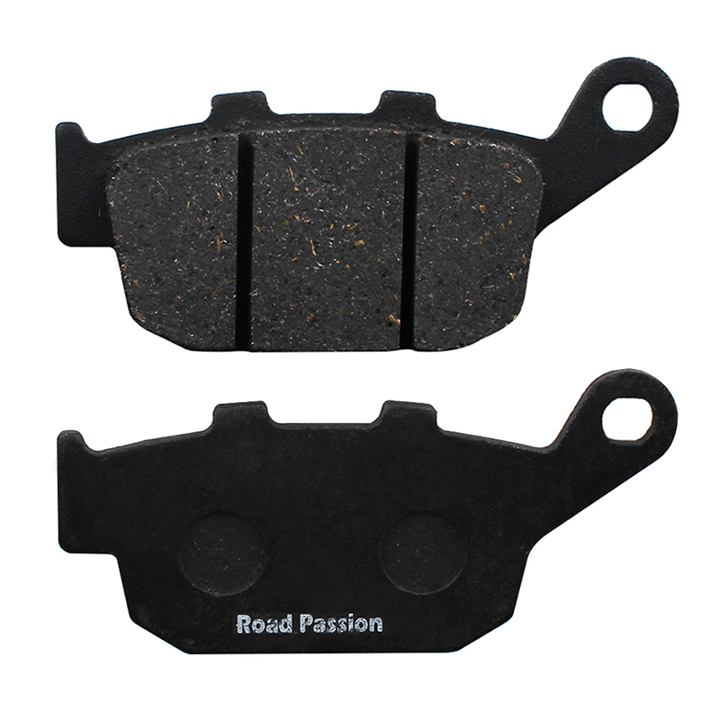 Road Passion Motorcycle Rear Brake Pads For HONDA FES250 Y 1 2 5 2000 05 FMX650 5 6 2005 08 NTV650 J K L M P S T V 1988 1997 in Brake Disks from Automobiles Motorcycles