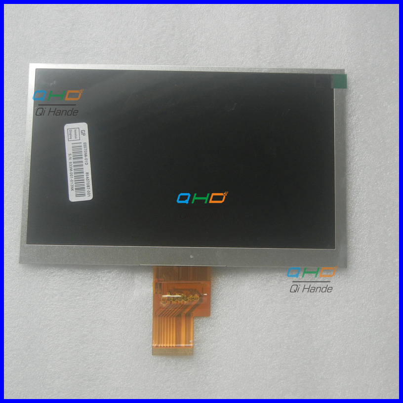 (Ref:EJ070NA-01J M1-B1 ) 7 -inch LCD Display LCD Screen 40 pin 165*105mm cable length 45mm