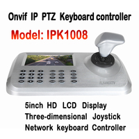 5''LCD sterowania PTZ IP Kamery ONVIF IP PTZ Klawiatura Joystick 3D HD Network PTZ Kontroler Klawiatury dla CCTV Kamera Speed Dome