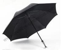 unbreakable self defense golf car umbrellas double carbon fiberglass 210T Taiwan Formosa anti uv black coating outdoor parasol