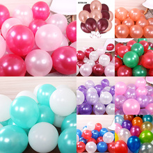 BTRUDI 100pcs Most popular 12 inches thick 2.8g pearl balloons Christmas wedding birthday party decoration high-quality