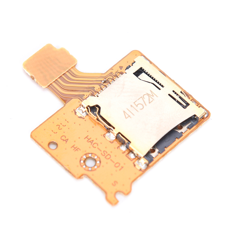 SD TF Card Slot Socket Board replacement for Switch Game Console SD Card Board Module Repair