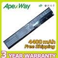 Apexway 6 celdas de batería portátil para asus f401 f401a f401a1 f401u f501 f501a f501a1 f501u f301 f301a f301a1 f301u
