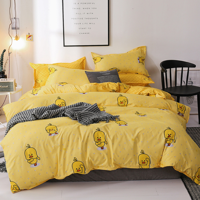 100% cotton satin bedding set comforter bedding set