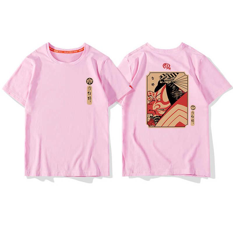 เกาหลียุโรปฝ้าย t เสื้อ Hip Hop คู่สีขาวพิมพ์ Tshirt Feminina Haut Femmes Mode ความงามเสื้อผ้า Kawaii 50H300