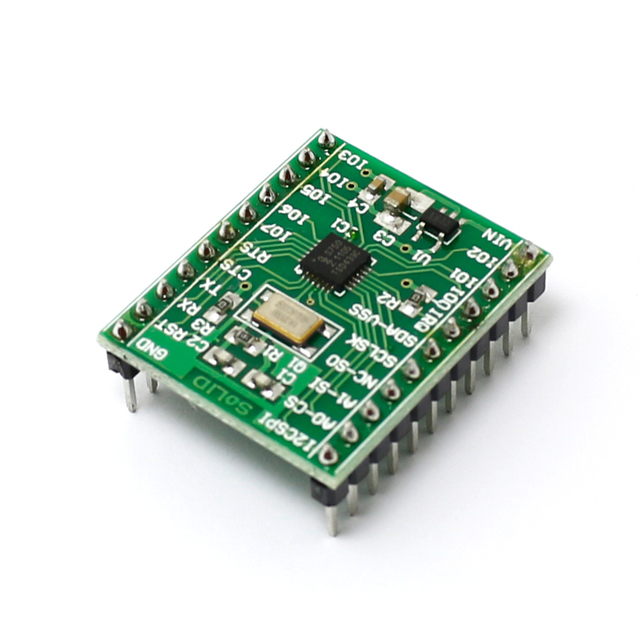 1x Breakout Board for SC16IS750 I2C/SPI-to-UART IC