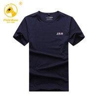 Field Base Casual Style O Neck T Shirt Men Japanese Popular Cotton T Shirt Hip Hop