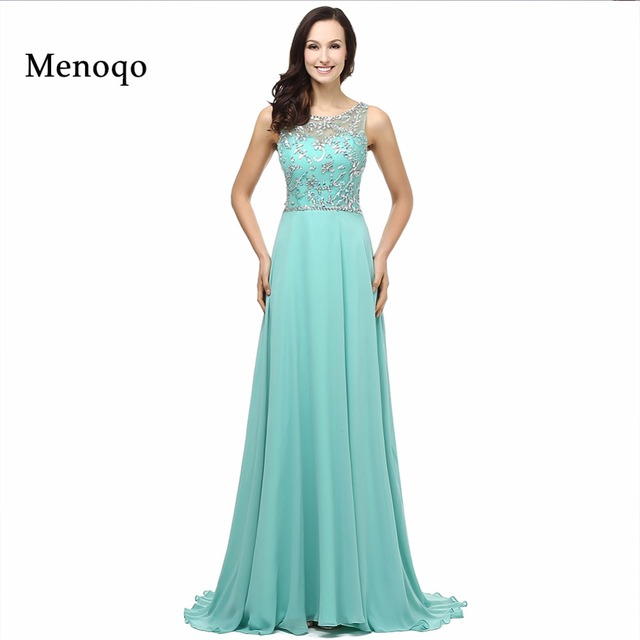 Fashion Actual Photos beaded luxury long evening dresses 2018 formal ...