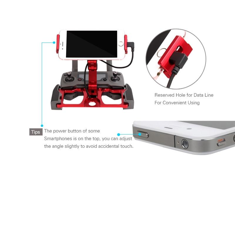 5.5 7.9 9.7 inch Mobile phone tablet holder Aluminum Alloy Metal Bracket clip for dji mavic 2 pro zoom spark mavic pro air drone Accessories 1 (1)