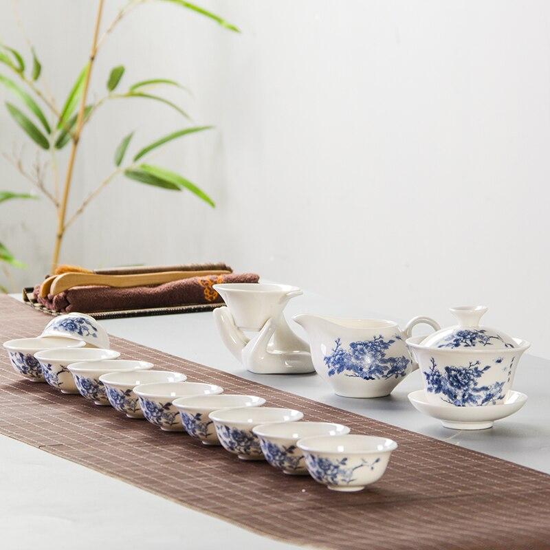 Çin Seramik Çay kuboku Farfor Çay, çay qəhvəyi B027 filtrli - Mətbəx, yemək otağı və barı - Fotoqrafiya 2