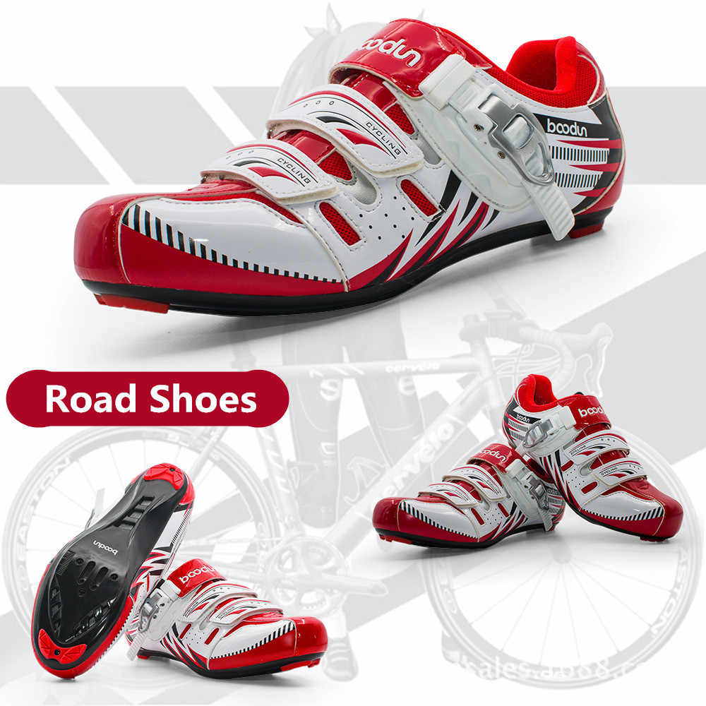 BOODUN Cycling Shoes Breathable Non-Slip Professional Self-Locking Bike Racing Shoes MTB Road Bicycle Shoes Sapatos de ciclismo