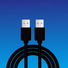 100pcs USB to Cable Type A Male  2.0 Extension for Radiator Hard Disk Computer Camera Extender