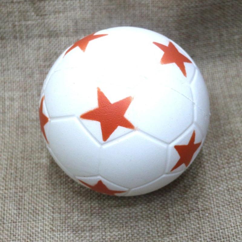 HOT SALE 9CM Funny Football Squishy Cute Anti stress Ball Squeeze Slow Increase the Kids Fun PU Squishy Toys