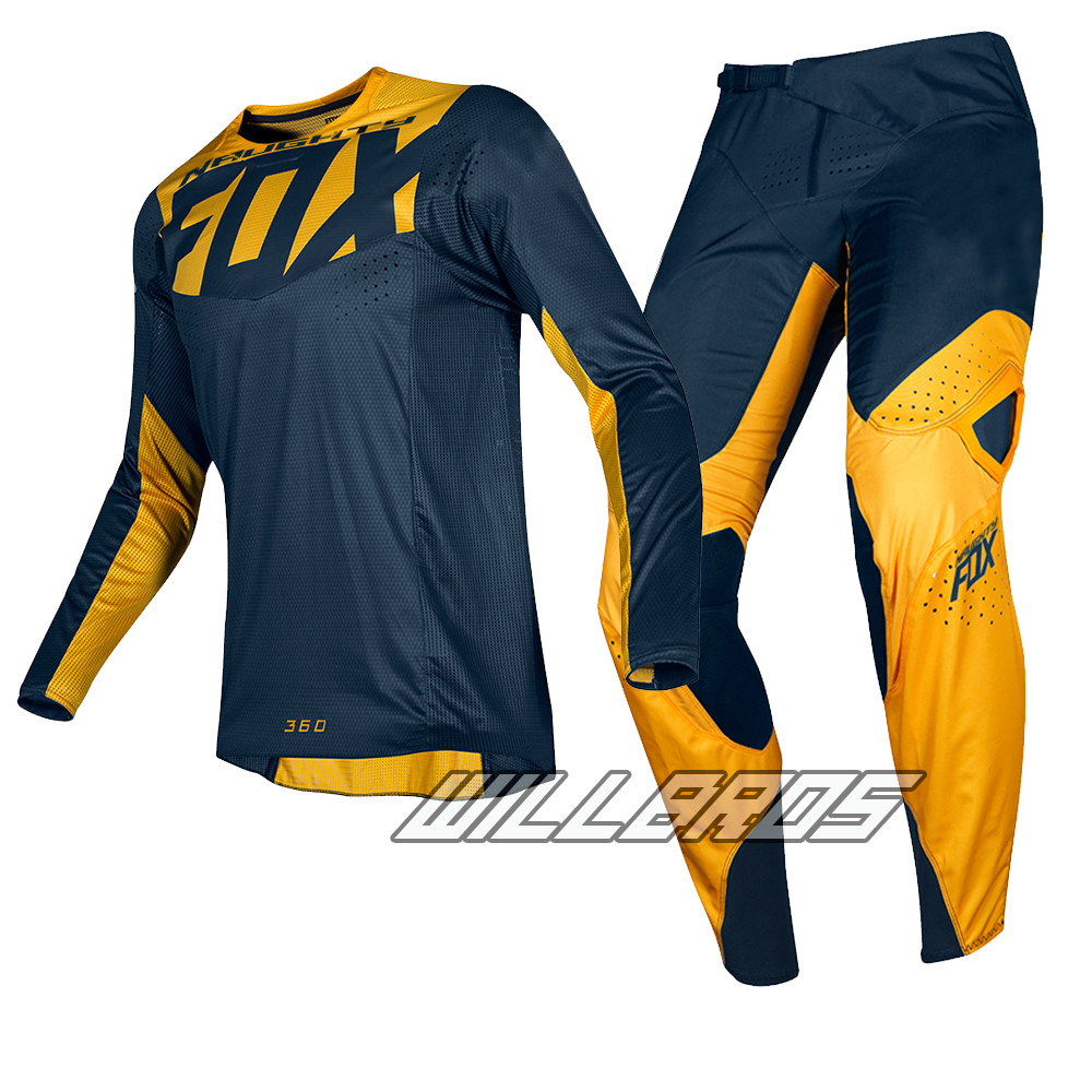 180 Prizm Navy Yellow Jersey & Pant Combo Dirt Bike MTB Cycling Offroad Motocross Adult MX Racing Gear180 Prizm Navy Yellow Jersey & Pant Combo Dirt Bike MTB Cycling Offroad Motocross Adult MX Racing Gear