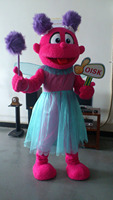 OISK Custom Abby Cadabby Mascot Costume Plush Cartoon Character Costumes Outfits Halloween Christmas Fancy Dress