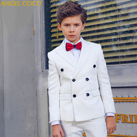 Menino Boys Suits For Weddings New Arrival Solid White Boys Wedding Suit Formal Suit For Boy Kids Wedding Suits Blazer Boy