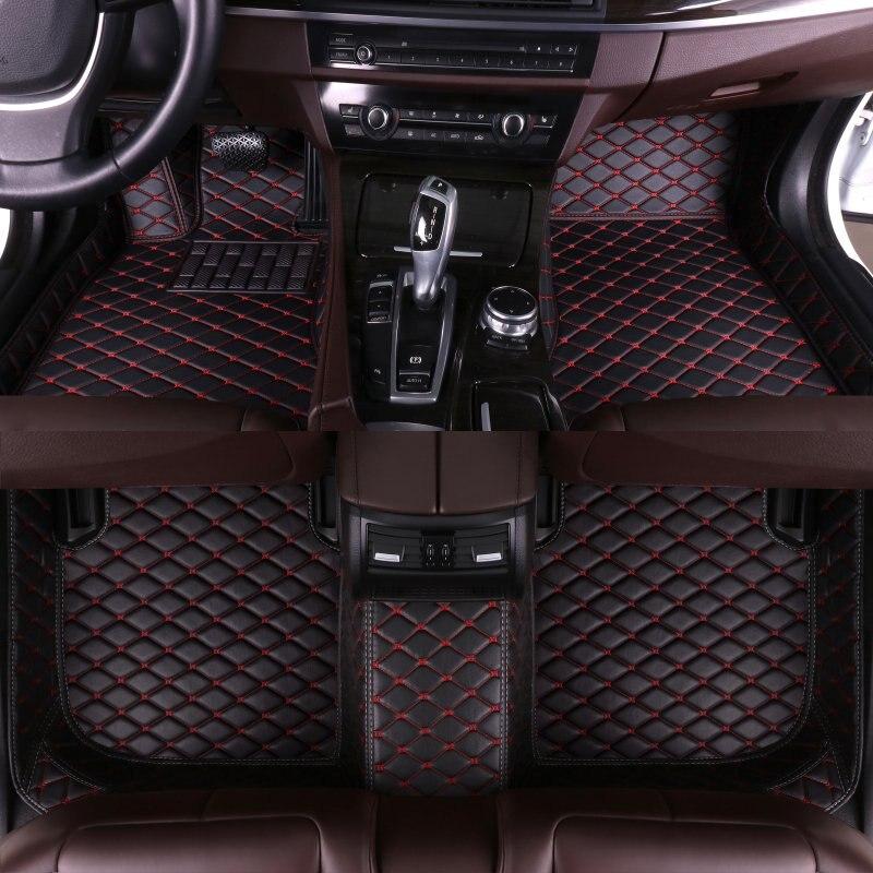 Personnalisé tapis de sol de voiture pour honda accord 2008 2009 2010 2011 2012 2013 2014 2015 2016 2017 2018 2019 auto accessoires voiture tapis