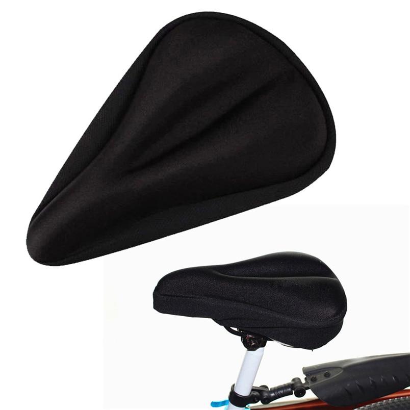 3D Pad Doux Épais De Bicyclette De Vélo Housse De Selle Vélo Siège de Cycle Coussin Adapte Pour Varier Sortes De Vélos #2A18