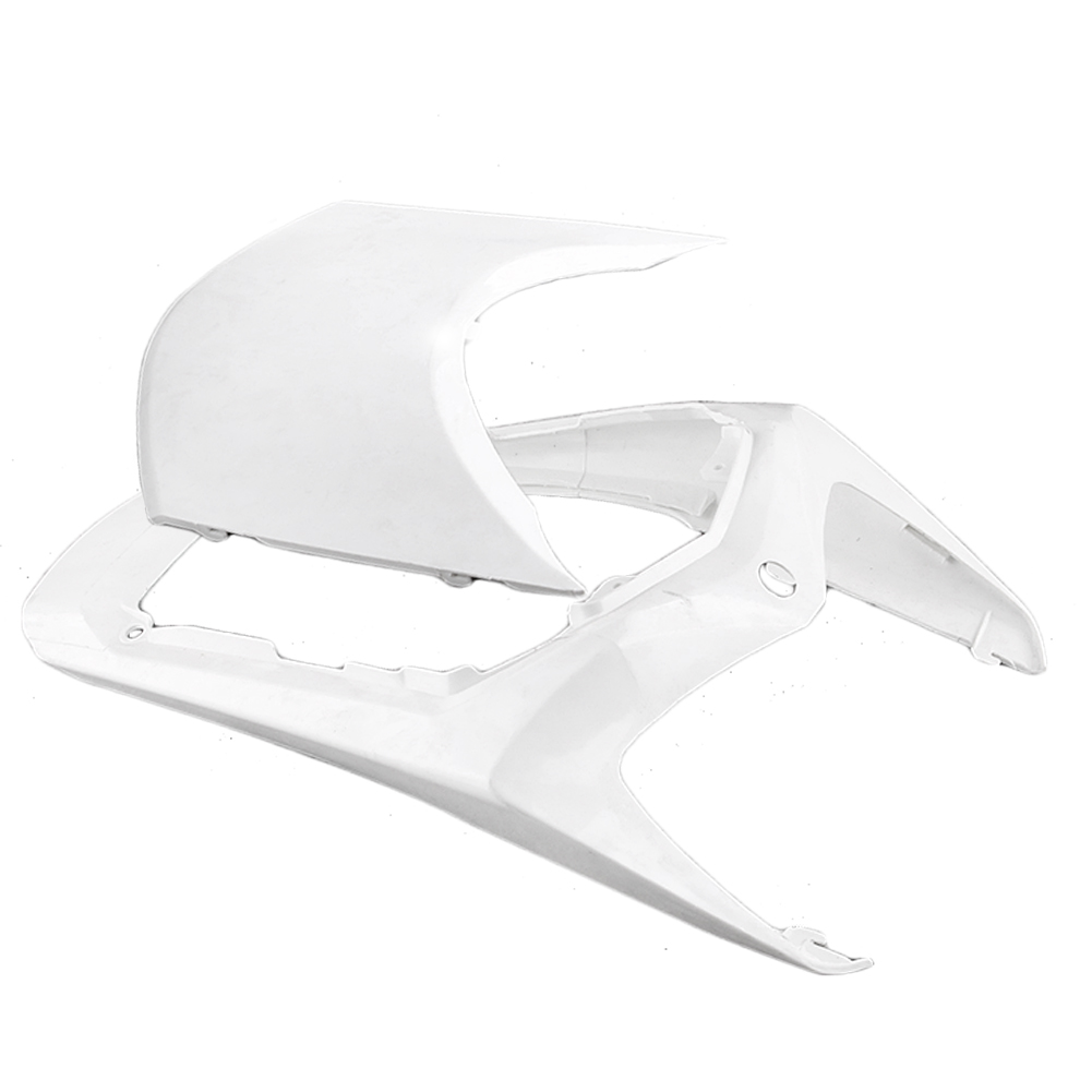 For Honda CBR1000RR Tail Rear Fairing Cover Bodykit Bodywork 2008-2009 Injection Mold ABS Plastic Unpainted White Motorbike Part mouse component plastic injection mold cnc machining household appliance mold ome mold