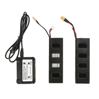 Light Weight And Hight Capacity 2pcs 7 4V 1800mah Battery 1pc Battery Charger For MJX B3