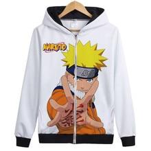 Naruto Cosplay Zipper Jacket in 15 Styles
