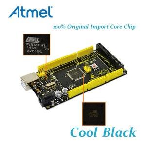 Image 3 - 1Pcs Keyestudio 2560 R3  Development Board+ USB Cable+Manual  For Arduino Mega