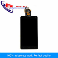 Liujiang 4.7 ''Display Para LG E975 F180 LS970 E971 E973 Screen Display LCD de Toque Digitador Replacment Screem