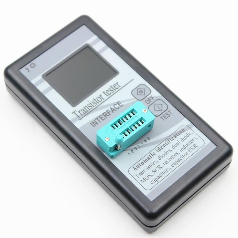 Mehrzweck Transistor Tester 128*160 Diode Thyristor Kapazität Widerstand Induktivität MOSFET ESR LCR Meter Tft-farbdisplay