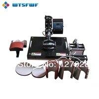 Wtsfwf Дешевые 30*38 см 8 в 1 комбинированный термопресс принтер 2D Термопринтер для кепки Подставка под кружку футболки печать