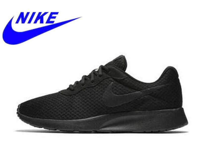 524757a1 ... Оригинальный Nike Новое поступление Tanjun Для мужчин для бега  кроссовки Roshe кроссовки открытый Walkng беговые кроссовки ...