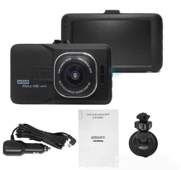 3,0 дюймовый экран Full HD 1080 P Автомобильный видеорегистратор Мини светодиод, предупреждающий о блокировке автомобиля камера видеорегистратор парковки регистратор g-сенсор