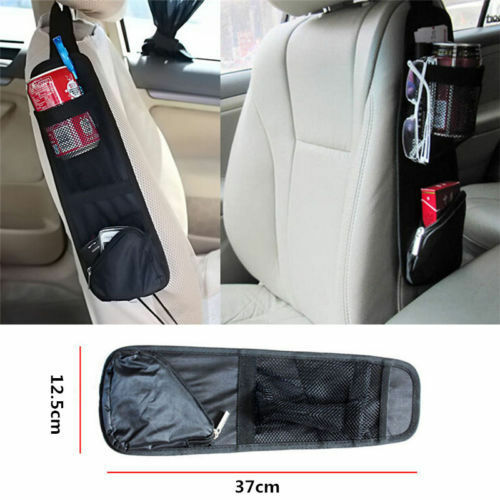 Image 2 - Universal Car Auto Side Seat Organizer Storage Multi Pocket Hanging Bag Holder-in Storage Holders & Racks from Home & Garden