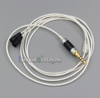 LN005239 3.5mm 4poles Silver Plated TRRS Re-Zero Balanced To Sennheiser IE8 Cable For Hifiman HM901 HM802 Earphone