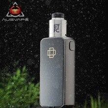 Augvape Druga Foxy Electronic Cigarette kit BTFC RDA VV/VW Mod Quick Release Patent Design Mod Box Dual 18650 Battery 9.2*5.2MM цена