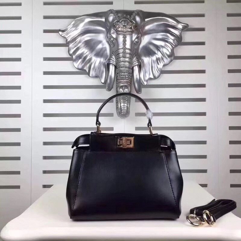 New Winter style Genuine Leather handbag women popular Women brand peekaboo bag Imported cowhide shoulder bag free shipping