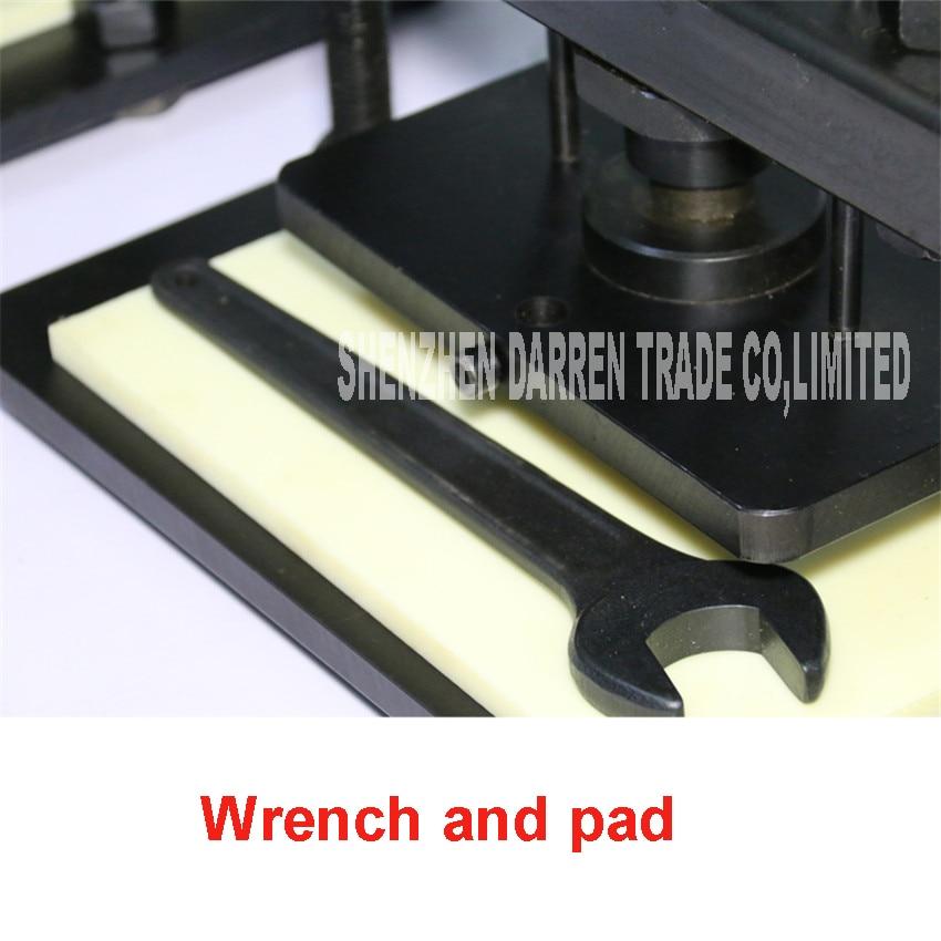 Hand Leder schneiden maschine, foto papier, PVC/EVA blatt cutter mold, manuelle Leder Form/stanzen maschine Manuelle sterben drücken - 6