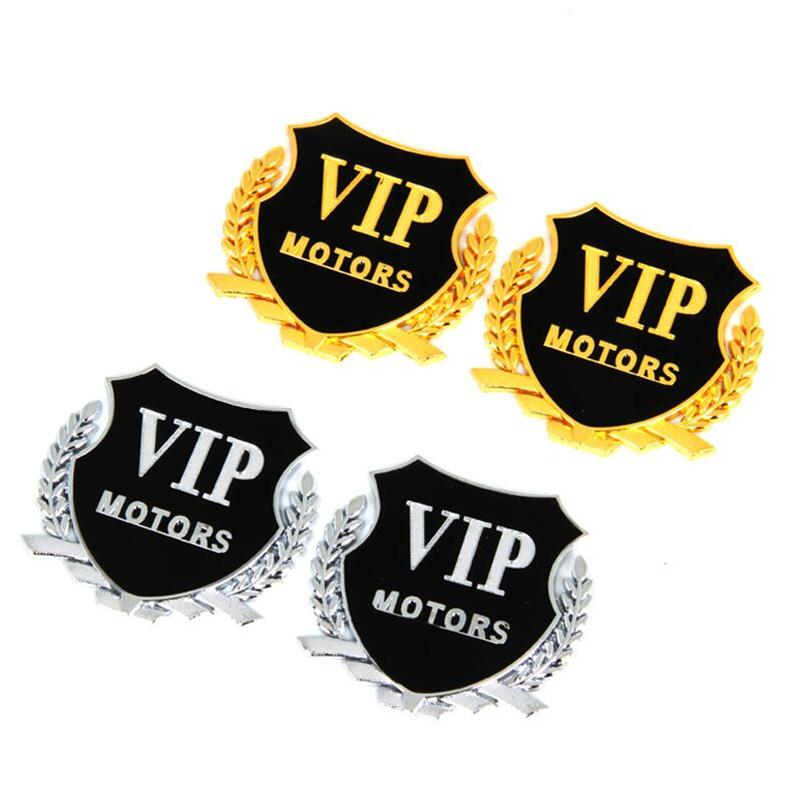 Hot Sale 2pcs Car Sticker Motors Emblem Badge Vip Decal For Hyundai