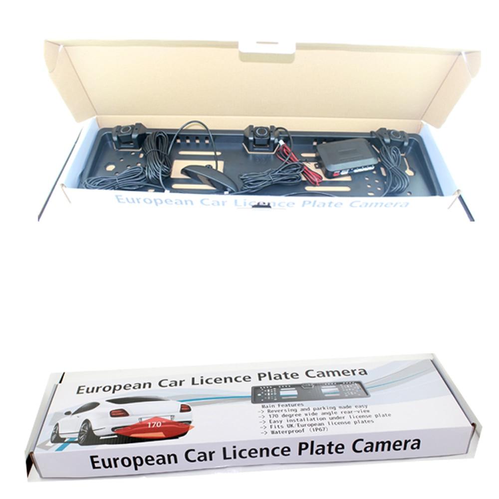 Vancago PZ300 L 3 in 1 European Nummernschild Parkplatz Sensor ...